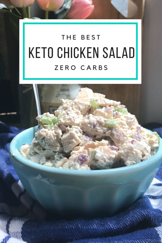 3298 ratings     | 0 CARBS KETO CHICKEN SALAD #0CARBS #KETO #CHICKEN #SALAD