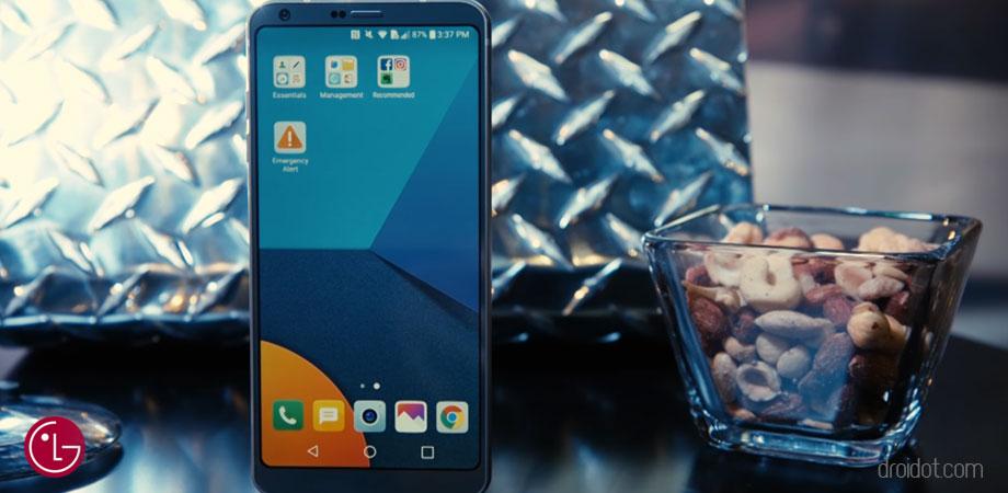 Inilah Keunggulan dan kehebatan LG G6