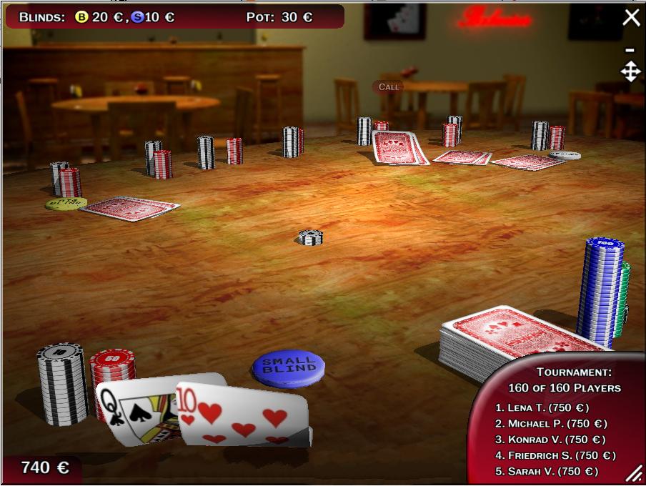 Texas holdem poker 3d offline version for windows 7