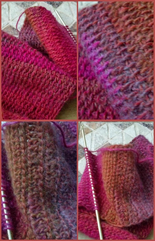 Winnie's Creative Corner: WIP Wednesday - Tunisian Crochet Scarf