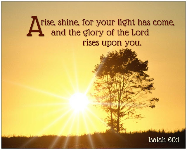 Image result for Isaiah 60:1