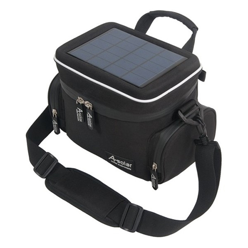 Sac chargeur solaire appareil photo et camescope