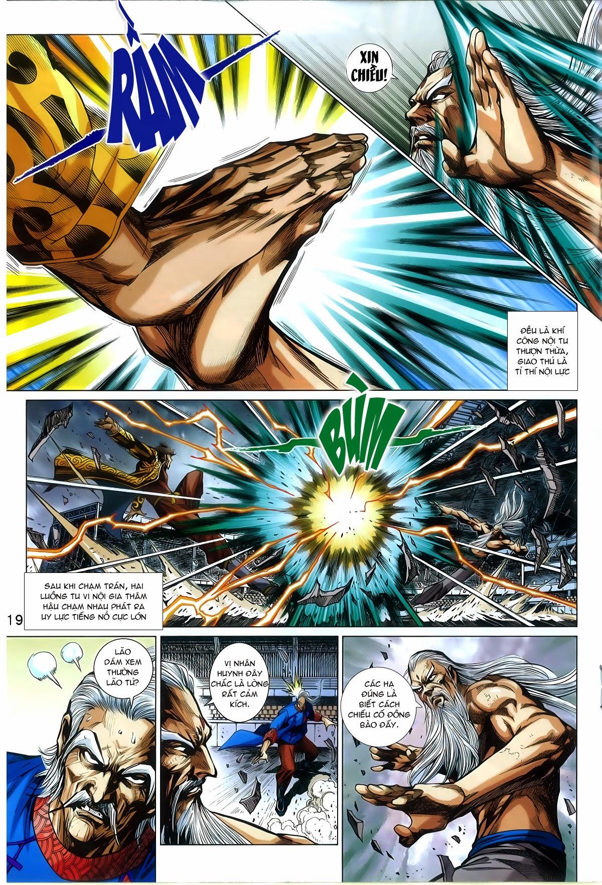Tân Tác Long Hổ Môn Chap 772 page 18 - Truyentranhaz.net