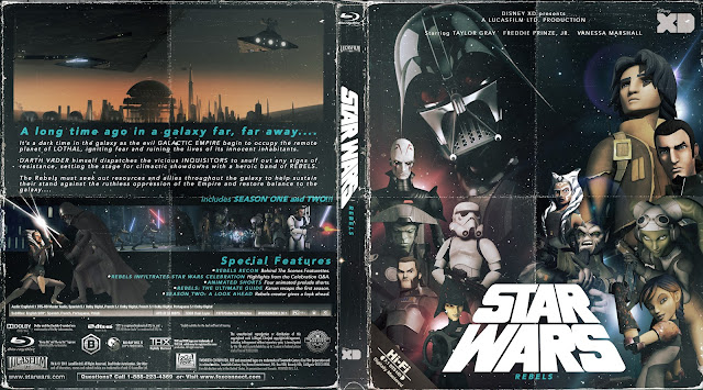 Capa Bluray Star Wars Rebels Primeira E Segunda Temporadas Completas