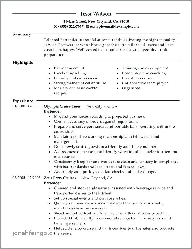 A Good Resume Example 2019 69