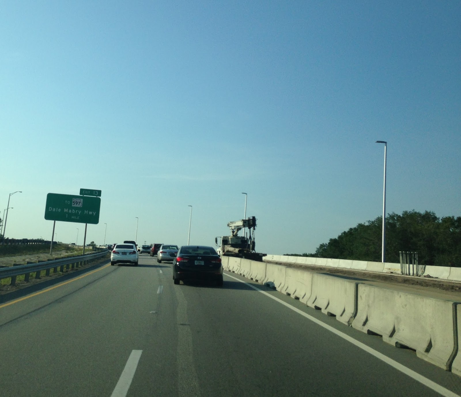 exit 13 is actually part of the former alignment of the veterans expressway known as fl 568 when the veterans expressway was completed in 1994 it utilized