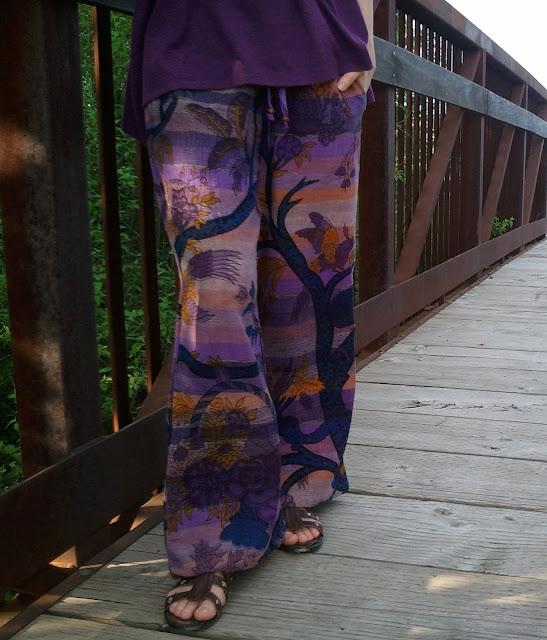 purple+tapestry+pants - Utopia Tapestry Pants