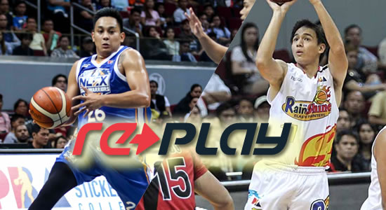 Video Playlist: NLEX vs Rain or Shine game replay 2018 PBA Governors' Cup