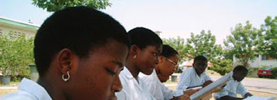 Cross Section of WAEC Students Writing Exams
