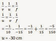 NCERT Solutions for Class 10th Science : Ch 10 Light