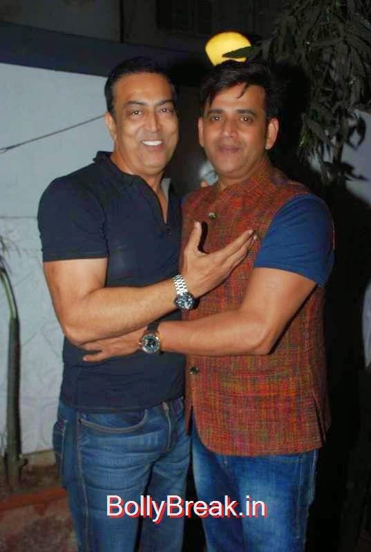Vindoo Dara Singh with Ravi Kissen