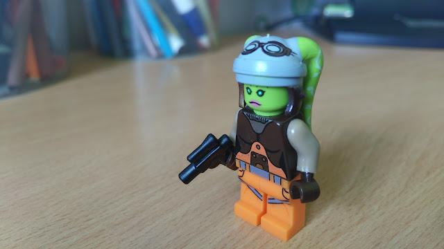 Гера Синдулла фигурка лего, минифигурка, повстанцы, звездные войны, купить