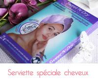 serviette cheveux sweet n dry