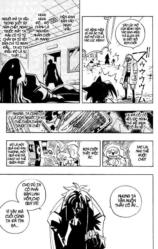 Shaman King [Vua pháp thuật] chap 45 trang 18