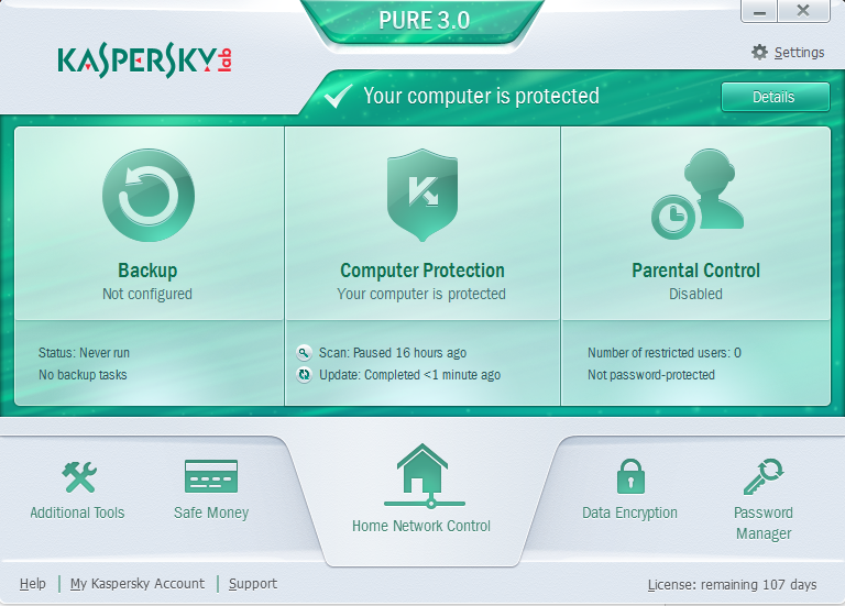 Kaspersky pure free download with activation code