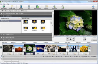 Creare video di foto musica effetti come slideshow di for Programmi per creare case
