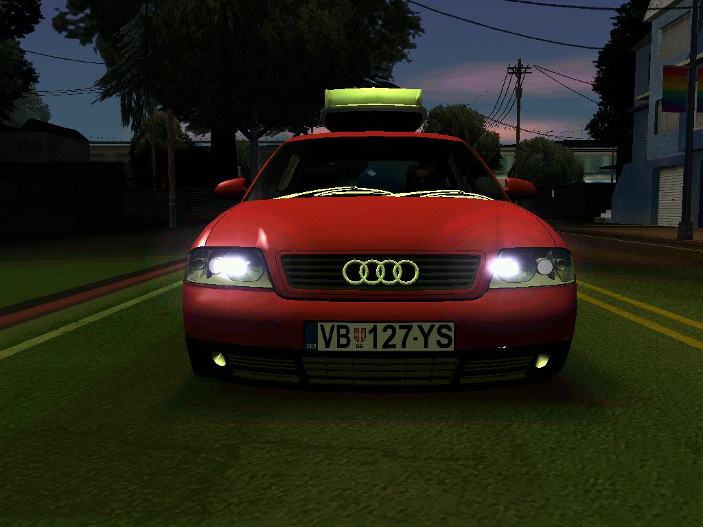 Gta Serbia Audi A6 C5 Avant Sommerzeit