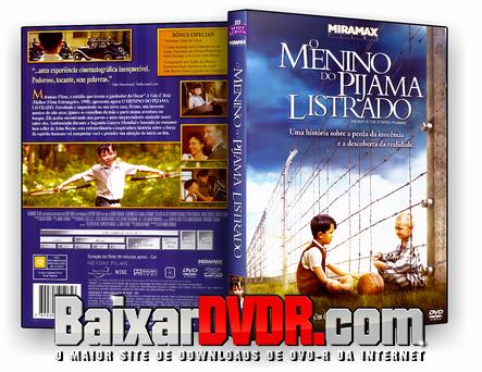 O Menino do Pijama Listrado (2008) DVD-R