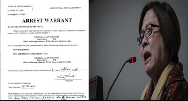 JUST IN: WARRANT OF ARREST kay Sen.De Lima inilabas na ng mga pulis