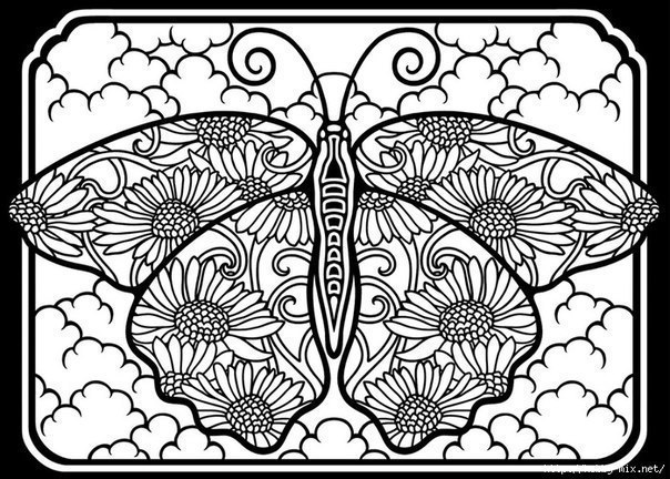18 Mándalas De Gatitos Mariposas Y Flores Para Colorear Haz