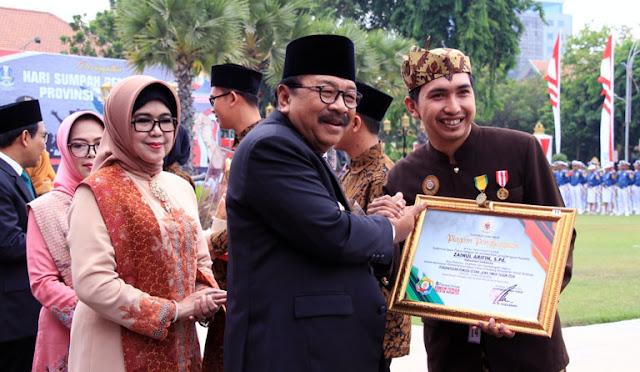 Penghargaan dari Gubernur untuk Pemuda Lumajang