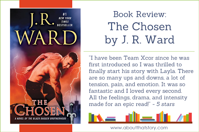Book Review: The Chosen by J. R. Ward | About That Story