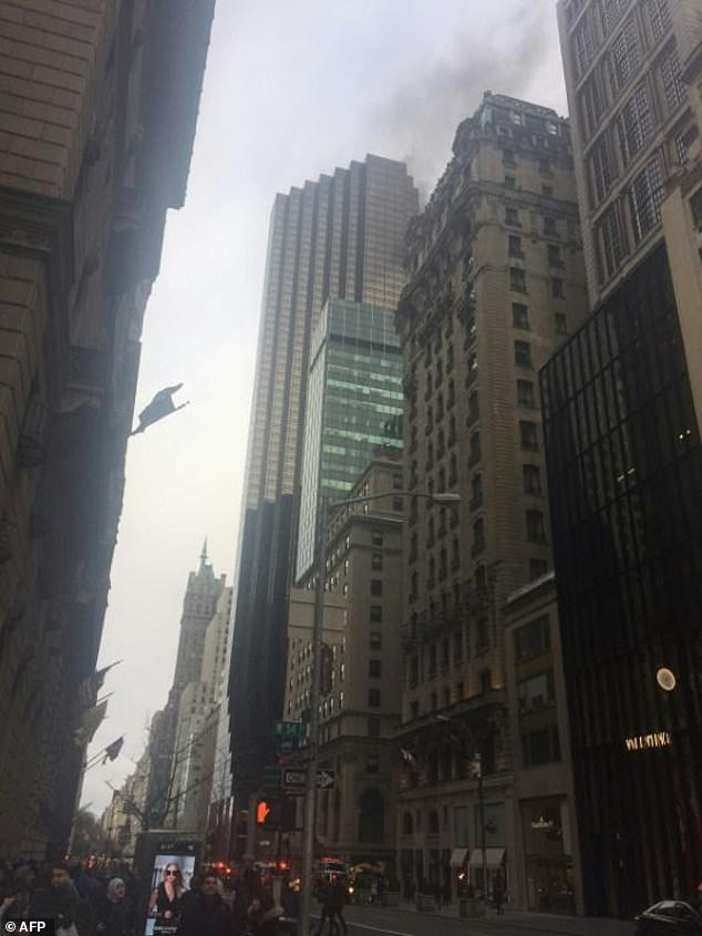 Fire Breaks Out At Trump Tower, One Killed Four Injured [PHOTOS].