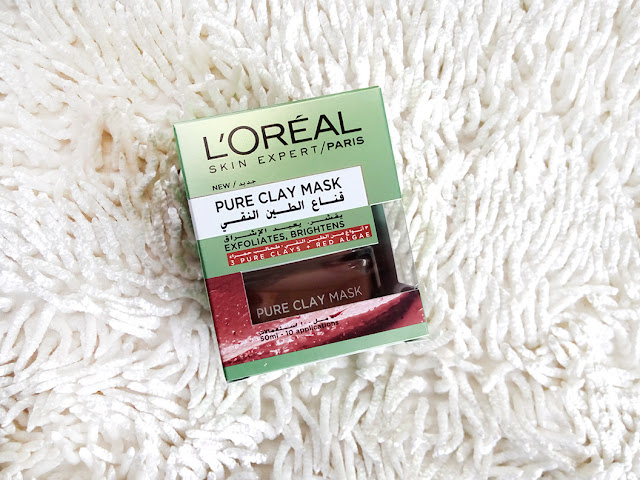 Exfoliate and Refine with Loreal Pure Clay Mask, Pure clay masks, Lets clay, Multi masking, skincare, skin care, red algae, anti oxidants, Smooth skin, enhance skin texture, beauty, makeup, beauty blog, skincare blog, top beauty blog, redalicerao, red alice rao