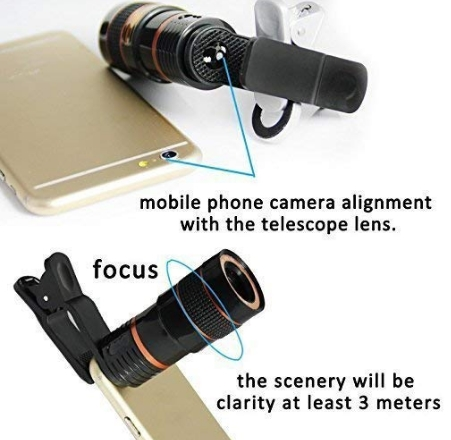 phone camera lens images,features