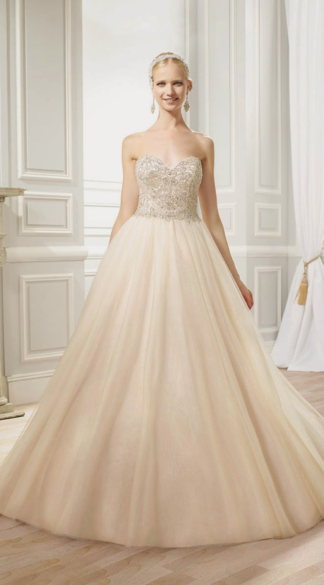 Wedding Dresses by Moonlight Bridal Spring 2015 Collection - Belle ...