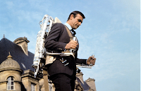 Bond's Jet Pack in Thunderball