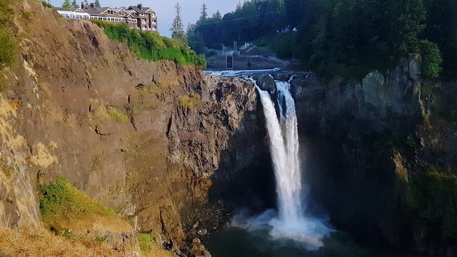 Snoqualmie Falls in Washington state...