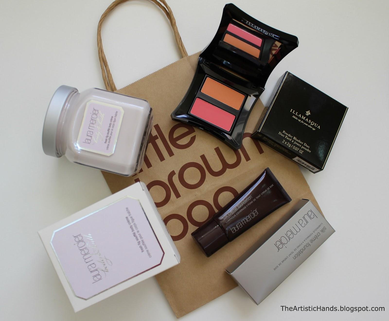 2c88ef0f3 Dubai Small Makeup Haul مشترياتي من دبي   The Artistic Hands ...