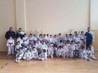 Προαγωγικές εξετάσεις σχολής Tae-Kwon-Do Δημοτικού «ΔΕΛΑΣΑΛ»