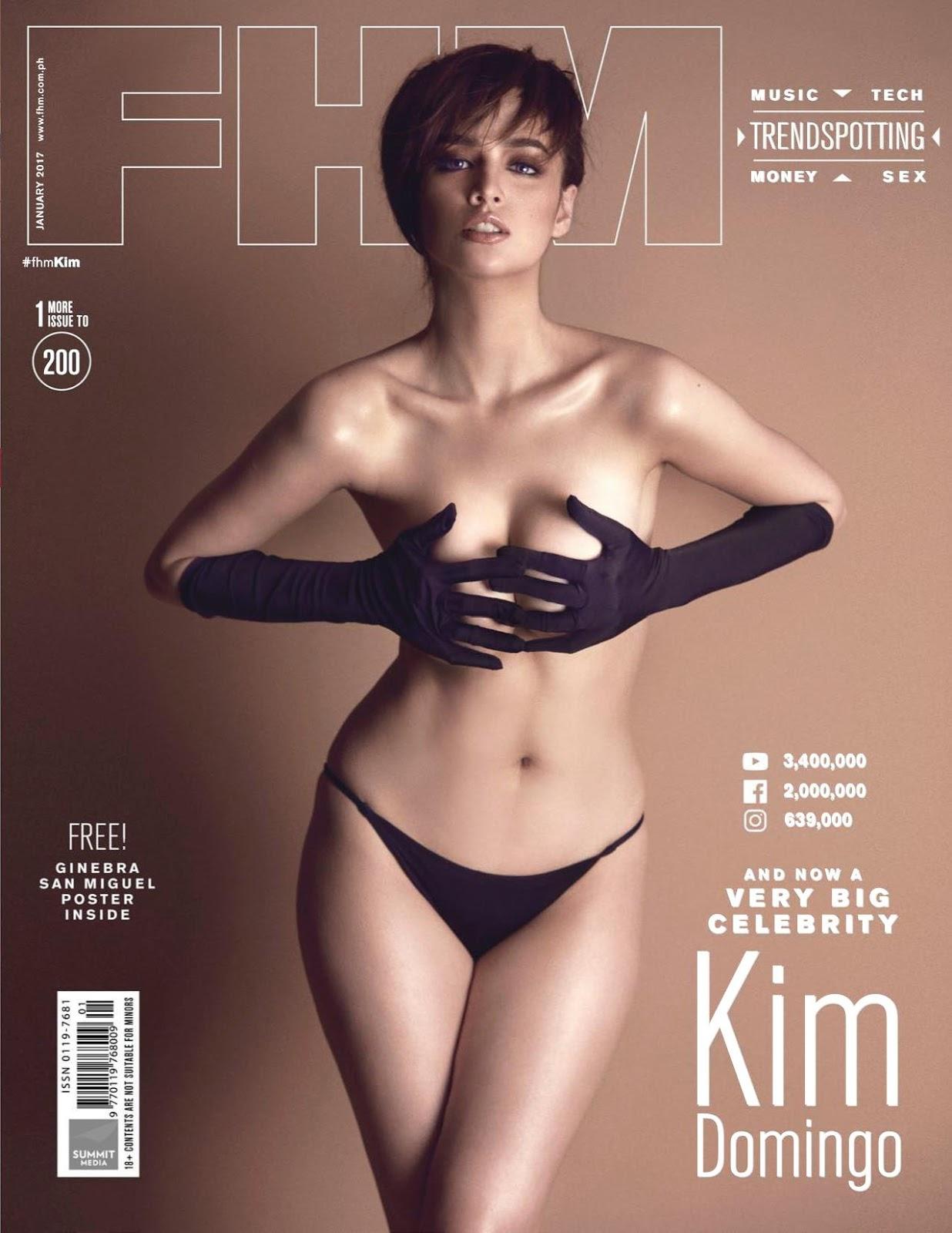Kim Domingo, FHM Philippines January 2017 Part01