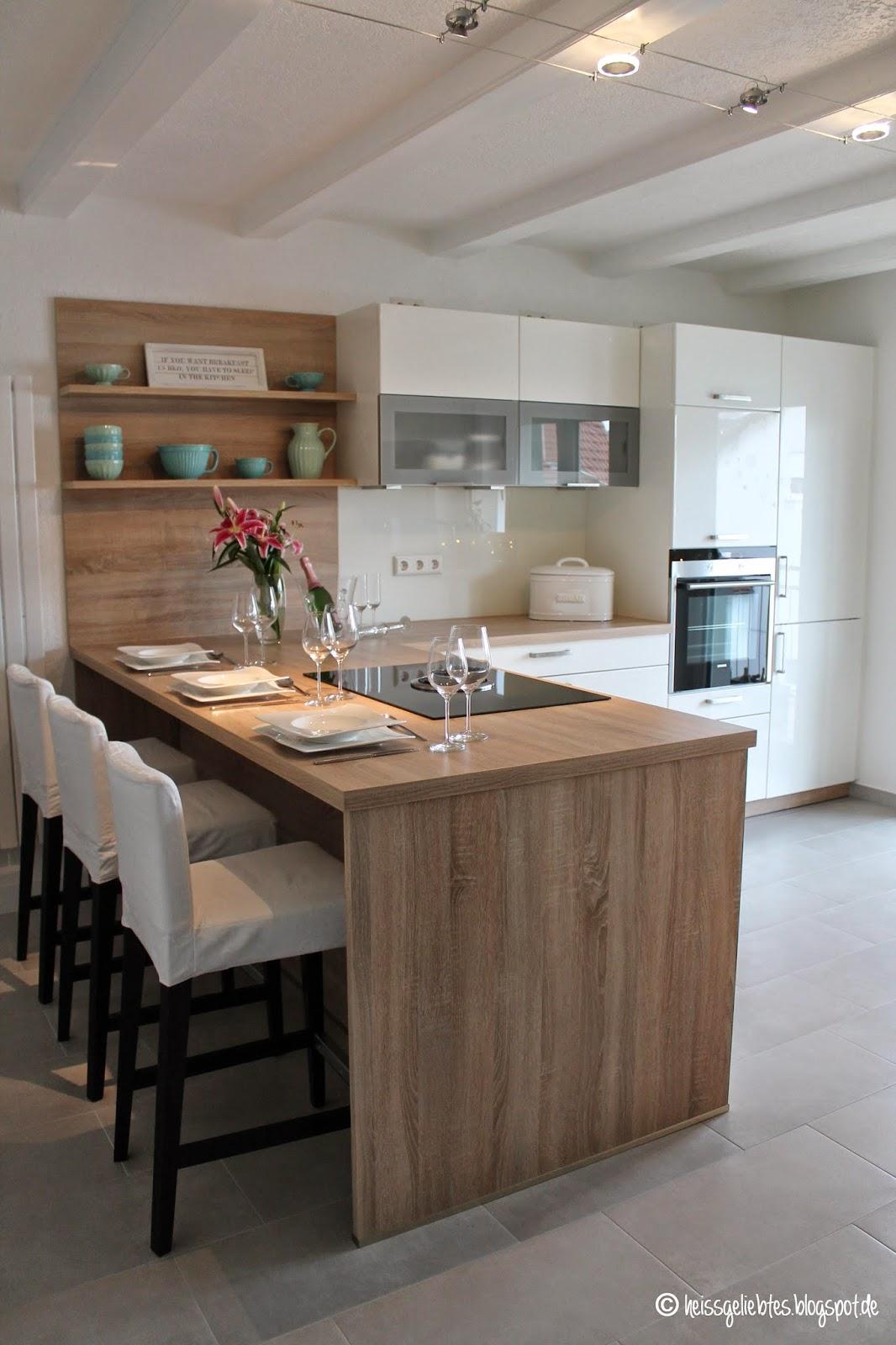 gallerphot k cheninsel mit sitzgelegenheit. Black Bedroom Furniture Sets. Home Design Ideas