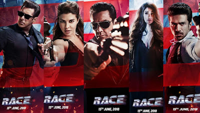 Race 3 Movie Box Office Collection, Race 3 Budget, Race 3 Hit or Flop, Race 3 Running Time, Screen Count, Salman Khan