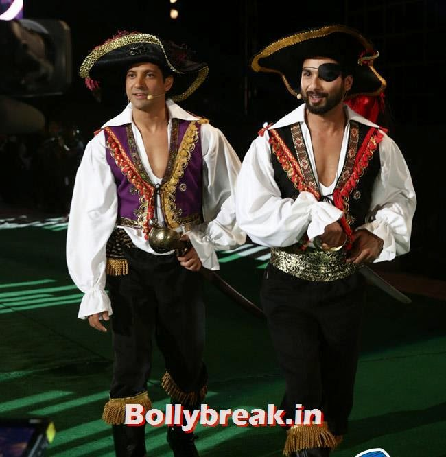 Farhan Akhtar and Shahid Kapoor, IIFA Awards 2014 Pics