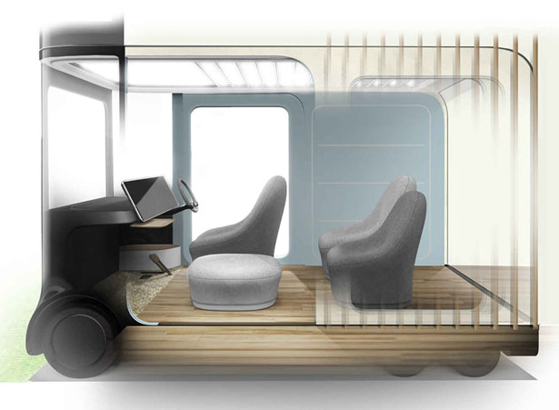 Looking for a house on wheels? Then this Honda IeMobi Concept Vehicle is for you