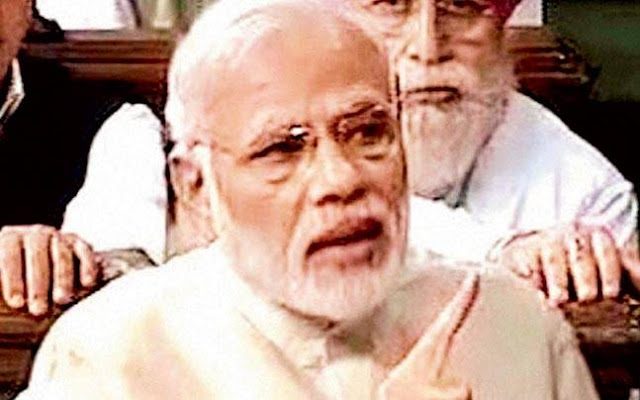 PM Modi thanks all parties for their support to GST