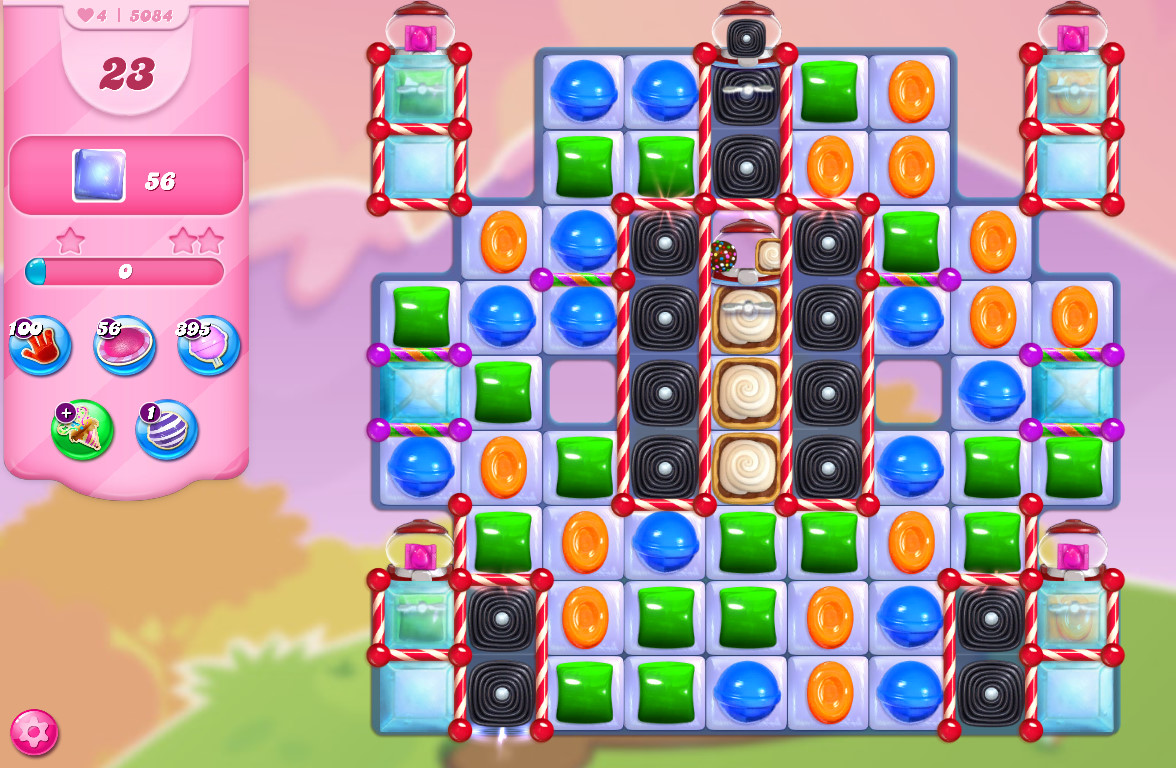 Candy Crush Saga level 5084