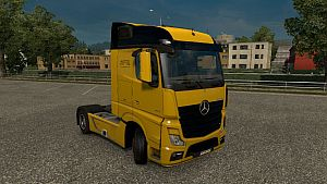 Mercedes Benz MP4 Food Tankers skin