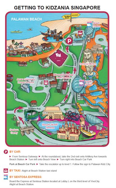 lokasi kidzania singapore, peta kidzania singapore, tempat wisata di singapore untuk anak, tempat bermain anak, wisata di singapore, tempat wisata anak di singapura