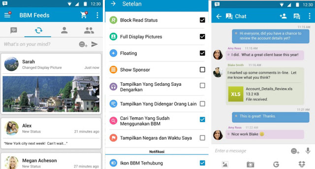 New BBM Mod Official v2.12.0.9 Clone and Not Clone