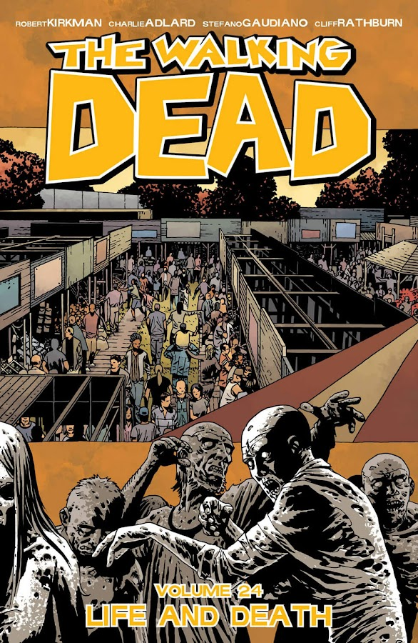 the walking dead life and death image comics