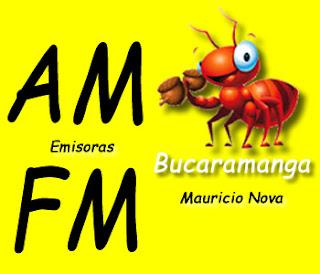 Emisoras en AM/ FM de Bucaramanga por Mauricio Nova