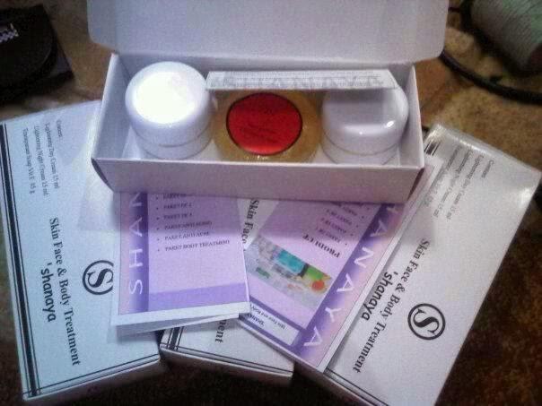 Cream Shanaya Lightening Pemutih Kulit