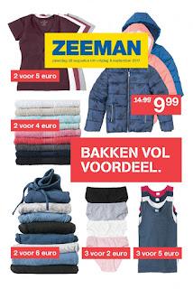 Zeeman folder Week 36, 26 Augustus – 08 September 2017