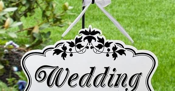 Tulisan Happy Wedding Unik 6