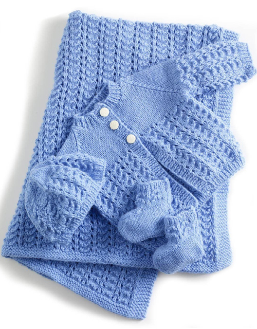 Lullaby Layette - Free Pattern